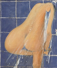 the shower by brett whiteley