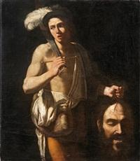 david mit dem haupt goliaths by michelangelo merisi da caravaggio