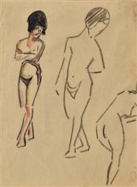 etude de nus by maurice le scouezec