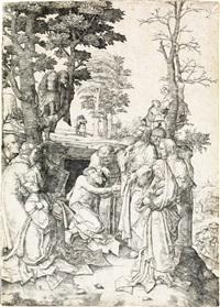 the raising of lazarus by lucas van leyden