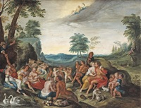 an allegory of the golden age by frans francken the younger