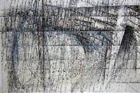 composition - lunar landscape by godfrey clive miller
