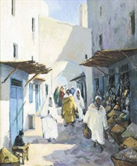 marché aux épices by mohamed krich