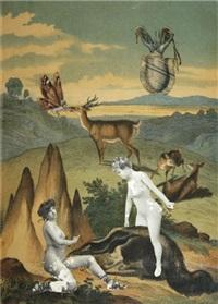 paysage avec deux femmes nues by paul éluard