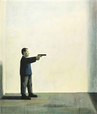 self-portrait by liu ye