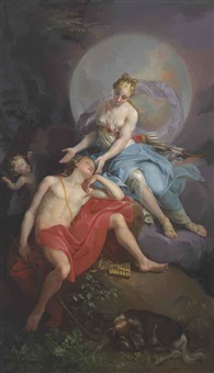 diana and endymion by laurent pécheux