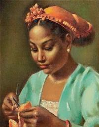 tricoteuse by mahmoud said