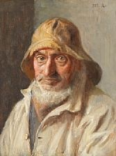the fisherman thomas peter larsen by michael peter ancher