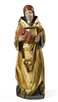 male saint, probably saint damian or saint cosmas by hans klocker