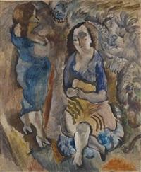 deux femmes by jules pascin