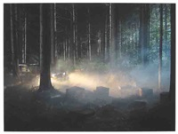 editioned production still (man in the woods #5) by gregory crewdson