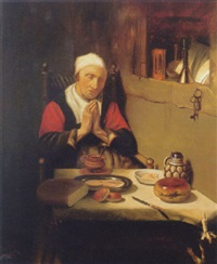 grace before meat by petrus johannes m. (piet) cottaar