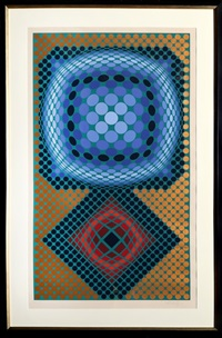 mi-ta by victor vasarely