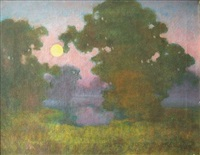soir by eugeniusz dabrowa-dabrowoski