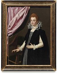 portrait of maria de medici by scipione pulzone