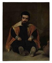 portrait of don diego de acedo, el primo by diego rodríguez de silva y velásquez