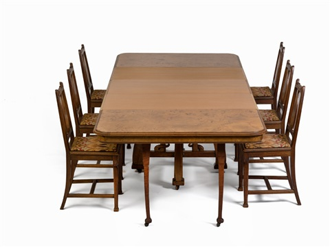 Leon Benouville Dining Room Suite France 1900 By