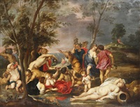 les andriens (after rubens) by erasmus quellinus the younger