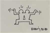 double by keith haring