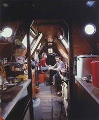 traveller series v (canal boat) by tom hunter