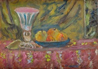 glass goblet by czeslaw rzepinski