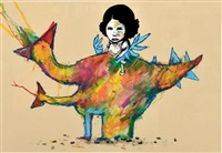 poulet - dinosaure by dran