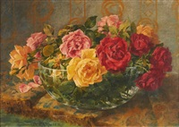 bouquet de roses by pierre garnier