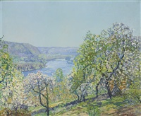 hills of point pleasant by edward willis redfield