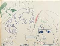 ma mère, moi et paloma by françoise gilot