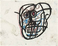 untitled (skull) by jean-michel basquiat