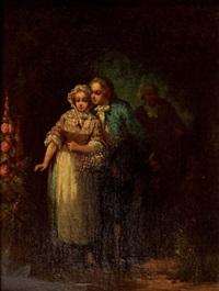 scène galante by léonard saurfelt