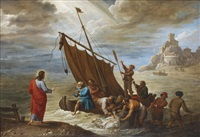 the miraculous draught of fishes by david teniers the younger