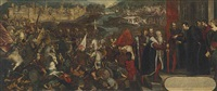 the siege of asola by jacopo robusti tintoretto
