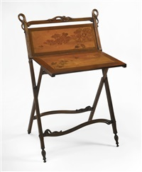 folding display stand by louis majorelle