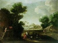 the prodigal son feeding swine by ignacio de iriarte