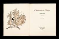 l'anniversaire de l'infante (bk by oscar wilde w/9 plates, 4to) by alastair (hans henning baron vogt)