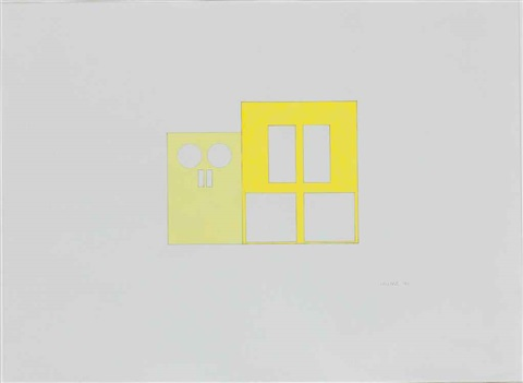 untitled two doors by gary hume