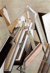 abstract composition by lawrence atkinson