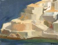 view of hydra by panayiotis tetsis