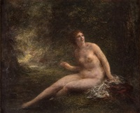 nymph surprised by henri fantin-latour