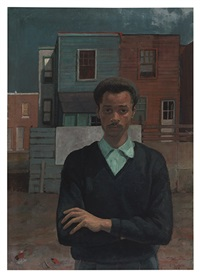 self portrait by louis b. sloan