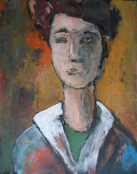 untitled (portrait) by peter cameron