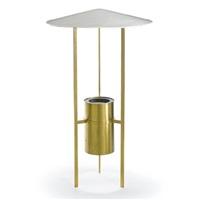 three-legged floor lamp by philip johnson and richard kelly