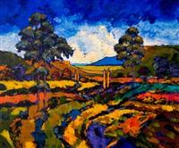 farm landscape by cornelius bosch