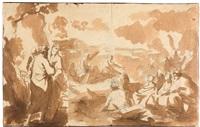 christus lehrt am see genezareth by nicolas poussin