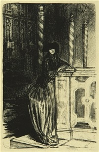 dame au masque by ethel gabain