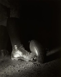 football kick - wesley e. fesler by harold eugene edgerton