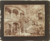 untitled (+ 3 others; 4 works) by william henry fox talbot
