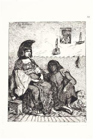 juive dalger by eugène delacroix