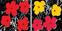 "andy warhol ""flowers"" 1965 by richard pettibone"